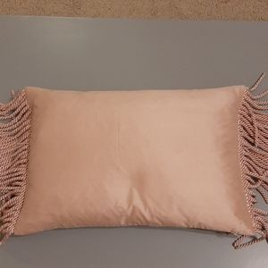 Blush pink pillow case
